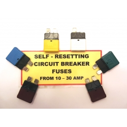 Fuses - Automatic Reset Circuit Breaker ATC 6 pc